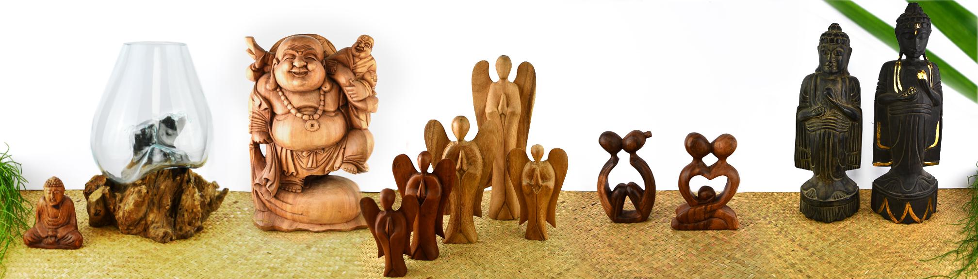 Skulpturen und Holzwaren