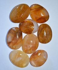 Bergkristall gelb Seifensteine