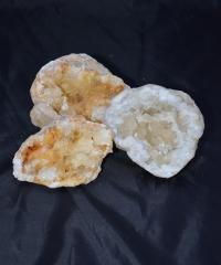 Calcit Geoden Paare