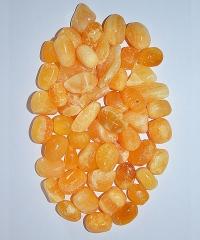 Calcit orange Trommelsteine