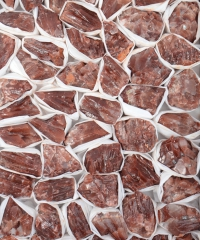 Calcit rot (gesäuert) Rohware