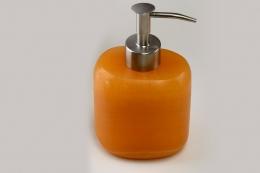 Orangen Calcit Seifenspender