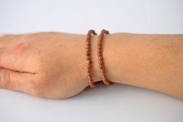 Goldfluss Armband facettiert