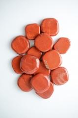 Jaspis rot Scheibensteine