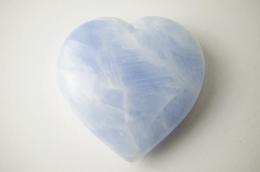Calcit blau Herz