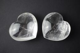 Bergkristall Herz
