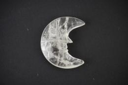 Bergkristall Mond Shape