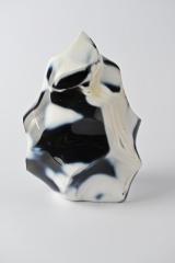 Achat blau Flame Shape