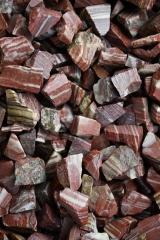 Jaspis rot streifig Wassersteine