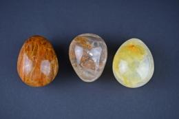 Bergkristall gelb Yoni eggs