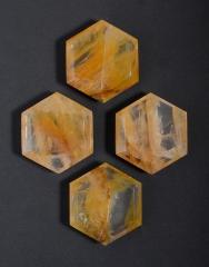 Bergkristall mit Eiseneinschlüssen Feensteine (klein)