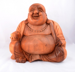 Happy Buddha sitzend 30 cm
