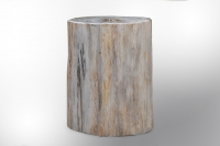 Hocker versteinertes Holz