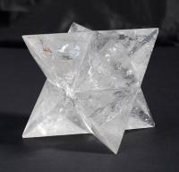 Bergkristall Merkaba Sterne